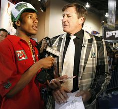 Nick Cannon interviews Craig Sager at Jam Session during NBA All-Star Weekend on…