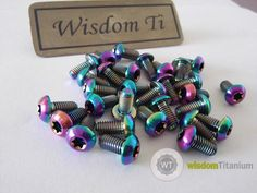 titanium disc rotor bolts iso 7380 in stock, competitive price, welcome inquiry: janet@wisdomtitanium.com