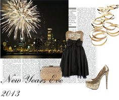 """""""New years eve!"""" by g1999 ❤ liked on Polyvore"""