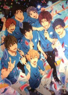 Free! - Iwatobi Swim Club, haruka nanase, haru nanase, haru, haruka, free!, iwatobi, makoto tachibana, makoto, tachibana, nanase, sousuke, sousuke yamazaki, yamazaki, matsuoka, rin, rin matsuoka, rei ryugazaki, rei, ryugazaki, nagisa hazuki, hazuki, nagisa, nitori, aiichiro nitori, aiichiro, mikoshiba, momotaro, momotarou, momotarou mikoshiba, momotaro mikoshiba Anime W, Anime Kawaii, I Love Anime, Anime Guys, Awesome Anime, Rin Matsuoka, Makoto Tachibana, Makoharu, Swimming Anime