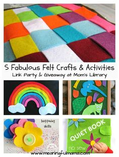 Felt Crafts and Activities - Meaningful Mama