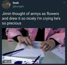 Jiminie | he's such a sweet person <3