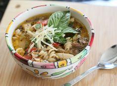 Italian Chicken Noodle Soup {Electric Pressure Cooker Recipe}