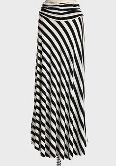 Long Love Maxi Skirt In Black   Modern Vintage New Arrivals