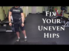 How To Fix Uneven Hips | Lateral Pelvic Tilt OR Leg Length Discrepancy? - YouTube