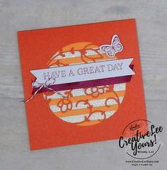 December 2017 Paper Pumpkin Flora and Flutter Kit by Wendy Lee,stampin up, handmade cards, rubber stamps, stamping, kit, subscription, floral cards
