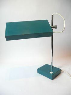 Rare 1970s KAISER 6693 Table / Desk Lamp Eames Panton Modernist Bauhaus 60s