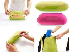 La marca de utensilios de cocina Lékué nos presenta su nuevo producto: fundas para bocadillos.