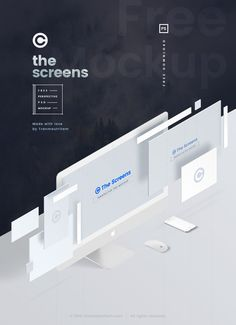 The Screens is the Perfectly PSD Mockup with the Perspective View to showcase your website design project in the modern style. You can easily add your own designs with the smart layers.• Smart Objects Ready. • Fully Layered. • Editable Screens. • Hig…