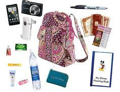 Advice from Disney Done Right: packing your backpack for the park