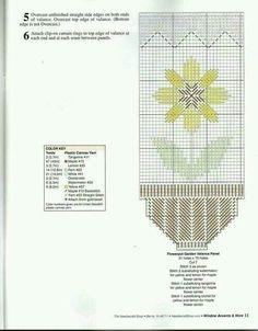 Flowerpot garden valance