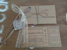 Πρόταση για #προσκλητήριο & #μπομπονιέρα γάμου!
