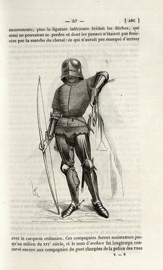 Knight with bow - http://bibliodyssey.blogspot.com