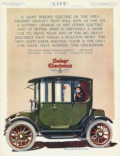 1915 Baker Electric Coupe