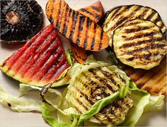 Vegans/Vegetarians - You can grill ANYthing on the bbq and it tastes incredibly good!  I love the watermelon steaks.  Try it!  Bittman Throws Another Melon on the Barbie - NYTimes.com