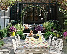 GLAM-ourous outdoor garden rooms - San Diego interior decorating | Examiner.com