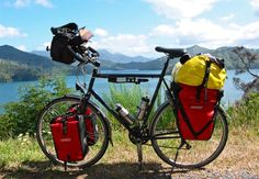 This is on the list, too. Touring New Zealand - Koga Randonneur touring bike photo ...