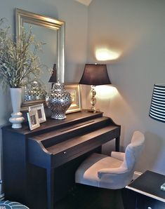 South Shore Decorating Blog: Score! A Free Piano (Made Over of Course)