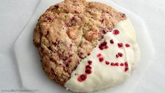 Recette cookies framboise chocolat blanc comme Starbucks