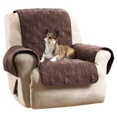 Recliner Slipcover Sure Fit Brown