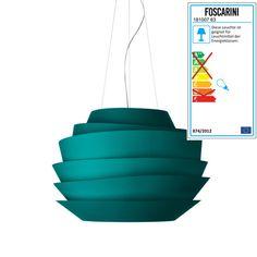 Foscarini - Le Soleil Pendelleuchte, aquamarin Aquamarin H:43