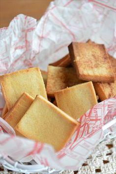 栄養抜群!高野豆腐でヘルシー ラスク ☆ - 四万十住人の 簡単料理ブログ!