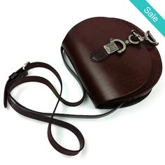 Leather Boho Saddle Bag - Genuine Leather Boho Saddle BagInterior: Interior Slot PocketFeature material: Top quality Embossed Cowhide Leather - On Sale for $89.00 (was $119.00)