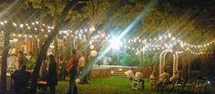 Our Garden of Egan at night