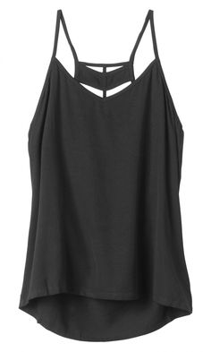 The Night Flight Tank by RVCA has a strappy back detail.