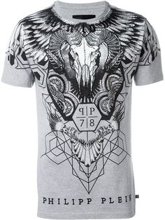 PHILIPP PLEIN 'Alex' T-Shirt. #philippplein #cloth #t-shirt