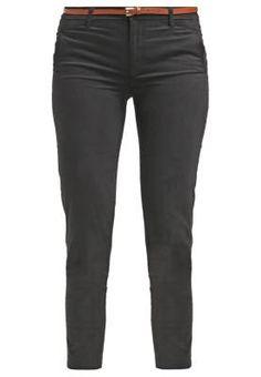 Springfield Pantalon Chino Black Pantalones De Tela De Mujer Hay unos  pantalones de tela de mujer para cada ocasión b7f8d2333f3b