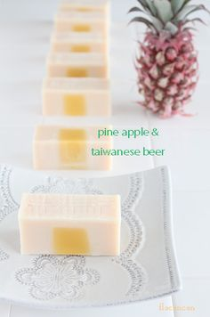pine apple & Taiwanese beer soap