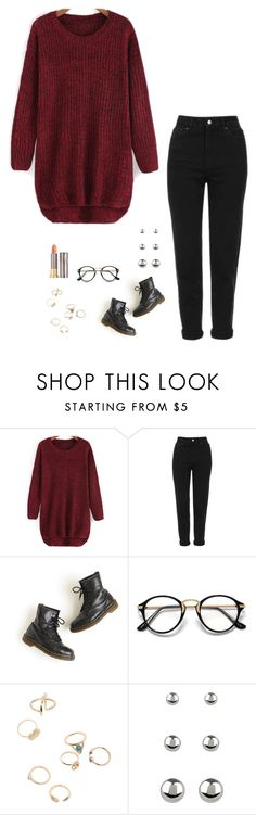 """Untitled #743"" by h1234l on Polyvore featuring Topshop, Dr. Martens, Accessorize and Urban Decay"