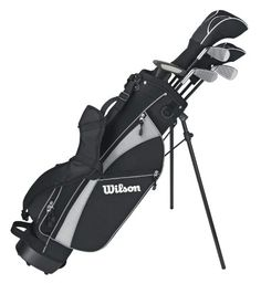 Junior Boy's Right-Hand Model, Medium-Set. Made for ages Kids Golf Clubs, Junior Golf Clubs, Left Handed Golf Clubs, Wilson Golf, Best Profile, Golf Club Sets, Man Set, Golf Bags, Boys