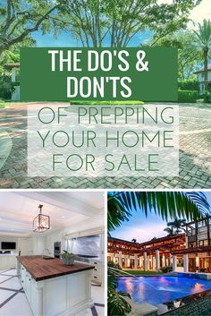 "Think you know what it takes to sell your home? Real estate experts ""The Jills"" share their top 5 ""do's and don'ts"" for getting your home in tip-top shape for the market. Sell Your House Fast, Selling Your House, Sell Home Fast, Real Estate Articles, Real Estate Tips, Shabby Chic Banners, Blue Matter, Home Staging Tips, Home Buying Tips"