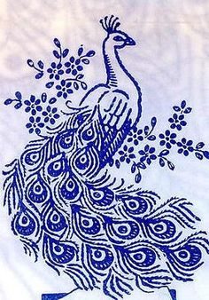 Vintage-Embroidery-Transfer-repo-827-3-Peacocks-for.jpg (279×400)
