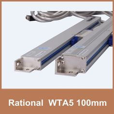 (106.40$)  Buy here - http://aiufr.worlditems.win/all/product.php?id=32366344783 - Free Shipping Rational WTA5 5um 100mm slim linear scale TTL 5V 0.005mm optical encoder for milling lathe CNC