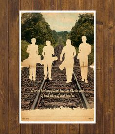 Stand by Me Movie Poster  Vintage Style Magazine by CinemaStudio, $24.00