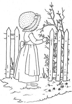 Coloring Book~HH Super Fun - Bonnie Jones - Álbuns da web do Picasa Embroidery Applique, Embroidery Patterns, Quilt Patterns, Classroom Art Projects, Drawing Sheet, Holly Hobbie, Girls Quilts, Coloring Book Pages, Fabric Painting