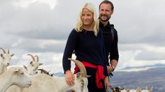 Mette-Marit 2011: Royal couple traveling in Hedmark in August.
