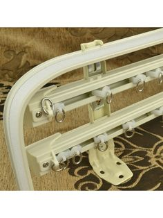 QYR6524 Triple Curtain Track Set with Valance Track | Cheery Curtains: Ready Made and Custom Made Curtains For Less
