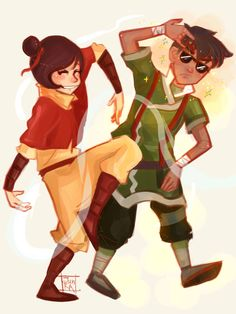 Kainora 3 - Avatar: Legend of Korra by JunKazama15 // sorry for the overload of kainora but I can't stop