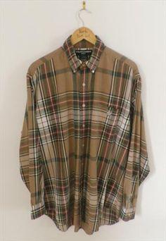 Vintage Ralph Lauren check tartan shirt