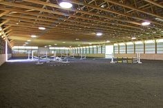 An indoor arena for riding in bad/cold weather?  At the perfect house, in Mullica Hill, NJ...