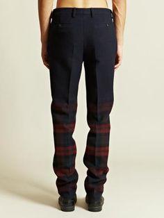 Lanvin Men's Flat Front Trousers