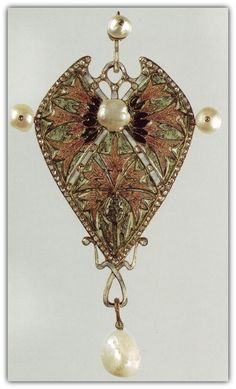 Georges Fouquet. Brooch or Pendant.