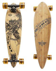 Dusters Weeko Bamboo Cruiser Longboard Skateboard Complete
