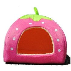Strawberry Small Cotton Soft Dog Cat Pet Bed House S/m/l/xl (Pink, L) - http://www.thepuppy.org/strawberry-small-cotton-soft-dog-cat-pet-bed-house-smlxl-pink-l/