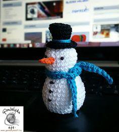 FONAL ANYUK: Horgolt hóember - amigurumi Crochet Christmas Decorations, Christmas Crochet Patterns, Festival Decorations, Crochet Hats, Amigurumi Minta, Advent, Capri, Christmas Ornaments, Creative