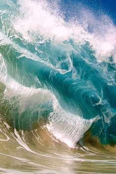 Ocean Waves ~ By Clark Little - sea